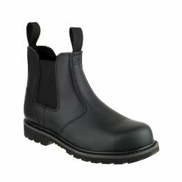 Amblers Safety FS5 Goodyear Welted Pull On Dealer Boots (Black)