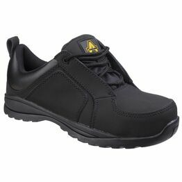 Amblers Safety FS59C Metal Free Lace Up Safety Shoes (Black)