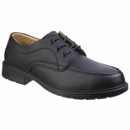 Amblers Safety FS65 Gibson Lace Safety Shoes (Black)