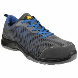 Amblers Safety AS711 Seamless Safety Trainers (Grey)
