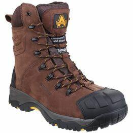 Amblers Safety AS995 Pillar Waterproof Hi-leg Boots (Brown)