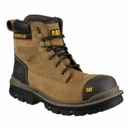 "Caterpillar Gravel 6"" Safety Boots (Beige)"