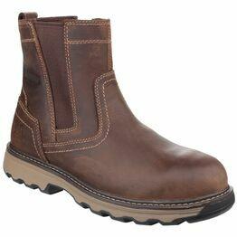 Caterpillar Pelton Safety Boots (Dark Beige)