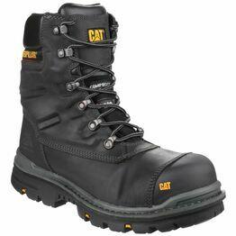 Caterpillar Premier Waterproof Safety Boots (Black)