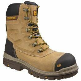 Caterpillar Premier Waterproof Safety Boots (Honey)