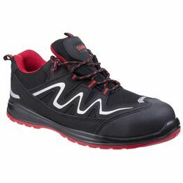 Centek FS312 Extra Light Water Resistant Trainers (Black)