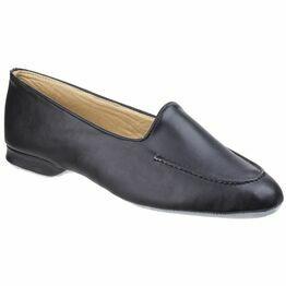 Fornells Ladies Slipper in Black