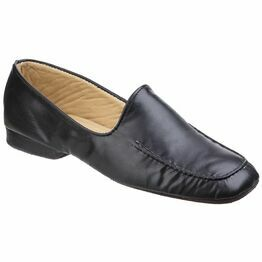 Manuel Mens Slipper in Black
