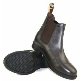 HyLAND Durham Leather Jodhpur Boot - Brown