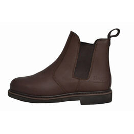 Hoggs of Fife GT4000 Leather Chelsea Boots - Brown
