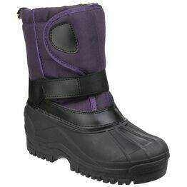 Cotswold Child's Avalanche Snow Boots (Purple)