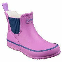 Cotswold Bushy Wellington Boots (Purple)