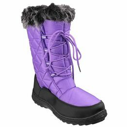 Cotswold Gale Snow Boots (Purple)