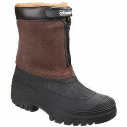 Cotswold Venture Waterproof Winter Boots (Brown)