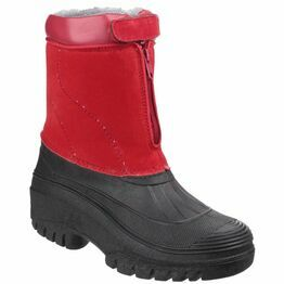 Cotswold Venture Waterproof Winter Boots (Red)
