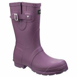 Cotswold Windsor Short Wellington Boots - Purple