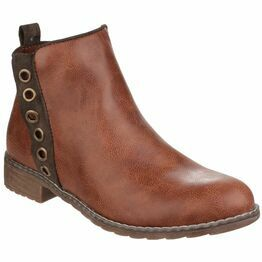 Demi Pull On Ankle Boot in Tan