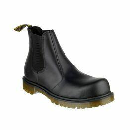 Dr Martens FS27 Industrial Leather Dealer Boots - Black