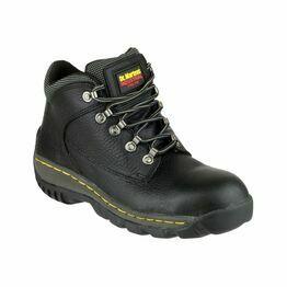 Dr Martens FS61 Lace-Up Safety Hiker Boots (Black)