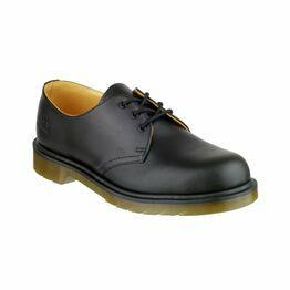Dr Martens B8249 Lace-Up Leather Shoes - Black