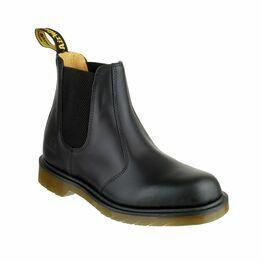 Dr Martens B8250 Slip-On Leather Dealer Boots - Black