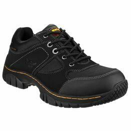 Dr Martens Gunaldo Steel Toe Cap Safety Shoes - Black