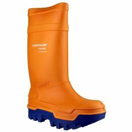 Dunlop Purofort Thermo+ Full Safety Wellington Boots (Orange)