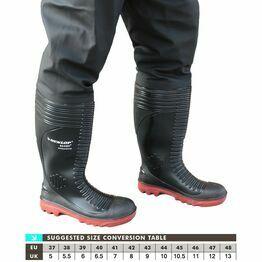 Dunlop Acifort A252931TW Thigh Waders (Black)