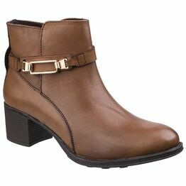 Canterbury Leather Ankle Boot in Tan