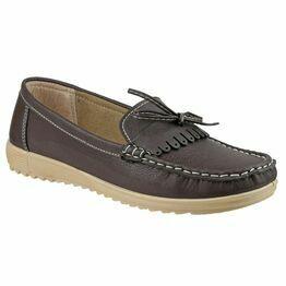Elba Loafer Shoe in Brown