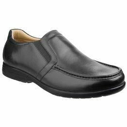 Gordon Dual Fit Moccasin in Black