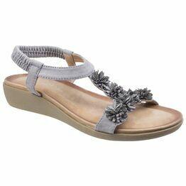 Matira T Bar Slingback Sandal in Grey