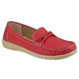 Paros Loafer Shoe in Red