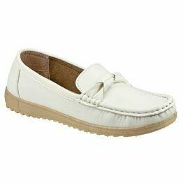 Paros Women's Loafer Shoes - White