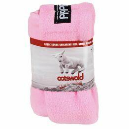 Cotswold Fleece Sock in Pink