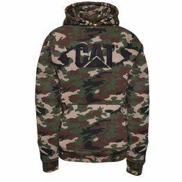 Caterpillar Trademark Sweater - Woodland Camo