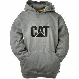 Caterpillar Trademark Sweater - Heather Grey