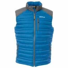 Caterpillar Defender Insulated Vest - Blue