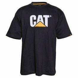 Caterpillar Trademark Logo T-Shirt - Black
