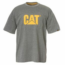 Caterpillar Trademark Logo T-Shirt - Dark Grey