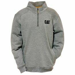 Caterpillar Canyon 1/4 Zip Sweatshirt - Dark Heather Grey