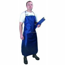 Dairy Spares Drytex Lined Apron (Blue)