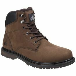 Amblers Millport Lace Up Boot in Brown