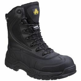Amblers Safety AS440 Hybrid Metal Free Hi-leg in Black