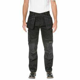 Caterpillar Floor Layer Flex Trouser in Black