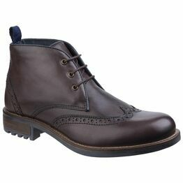 Cotswold Avening Brogue Chukka Boot in Brown