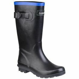 Cotswold Fairweather Junior Wellington  in Black/Blue