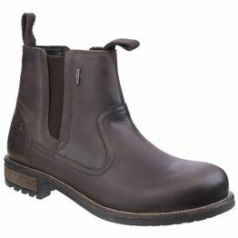 Cotswold Worcester Chelsea-Style Boots - Brown