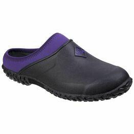Muck Boots Muckster II Gardening Clog in Black/Purple
