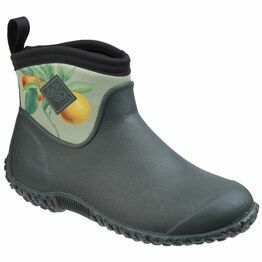 Muck Boots Muckster II Ankle RHS Print Ga in Green/Citrus-Aurantium
